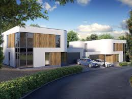 architectural illustration for executive home