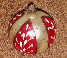 vintage christmas ornaments 7 made in poland average used
