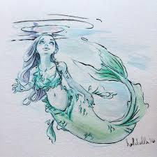 coloring luxury drawing mermaids mermaid drawings
