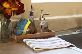 Kitchen Sink Tray Cleanup Fast With An Organized Kitchen Sink Diy Soap