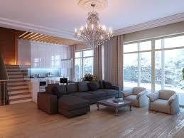 light wood floors and furniture
