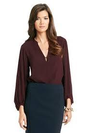 diane von furstenberg silk blouse in black retail therapy