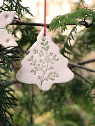 25 unique clay ornaments ideas on salt dough