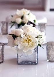 small centerpieces square vase flower arrangements charming table small