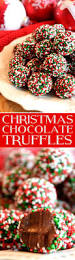 truffles are the perfect homemade candy for christmas these look
