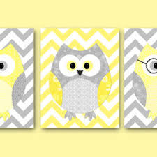 Nursery Owl Decor Owl Decor Owls Nursery Baby Nursery From Artbynataera On Etsy