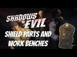 Bench Locations Bo3 Shadows Of Evil Zombie Shield U0026 Work Bench Spots Youtube