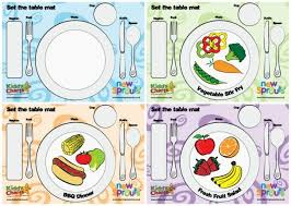 table manners for kids printable how to teach kids how to set the table so you don t have to