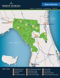 Map Of Gainesville Florida by North Florida Economic Development Partnership
