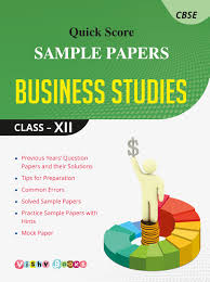 quick score sample papers business studies class xii amazon in