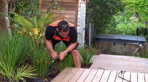 how to install garden lights how to install garden lighting mitre 10 easy as youtube