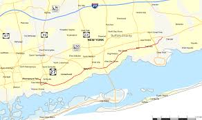 Ny State Counties Map new york state route 27a wikipedia