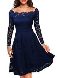 amazon com missmay miusol women u0027s vintage floral lace long sleeve