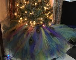 themed tree skirts tulle christmas tree skirt etsy