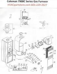 7995c856 coleman gas furnace parts u2013 hvacpartstore