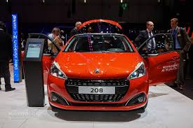 peugeot 208 gti blue all new peugeot 208 coming in 2018 with electric powertrain