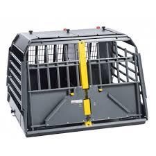 porta cani per auto variocage gabbia trasporto cani in auto deformabile in acciaio