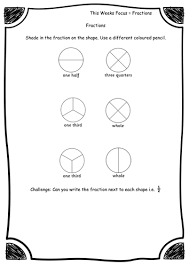 year 2 fractions fraction of shape worksheets