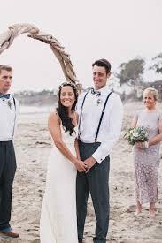 beautiful bohemian u0027surf fiesta u0027 beach wedding
