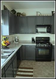 what color cabinets go with black appliances gray kitchen cabinets with black appliances in kitchen kitchens
