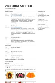 Sample Resume For Procurement Officer by Purchasing Manager Resume Samples Visualcv Resume Samples Database