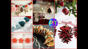 diy christmas home decor 50 diy christmas garland ideas beautiful winter home decor youtube