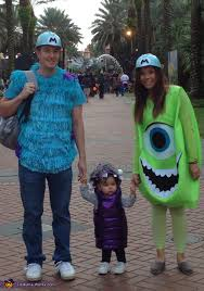 monsters inc costumes monsters inc family costume