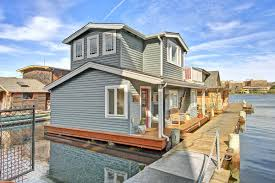 craftsman style portage bay float house small house bliss