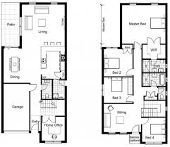 modern home designs and floor plans modern townhouse floor plans homes floor plans