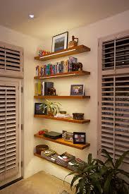 Lighting For Bookshelves by Nearly Invisible Shelf Lighting Diode Led