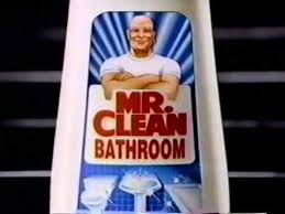 Mr Clean Bathroom Cleaner 1993 Mr Clean Bathroom Cleaner Commercial Youtube