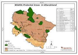 Himalayan Mts Map Maps Of Protected Areas In India