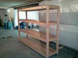 Wood Shelf Plans by Basement Shelving Plans It U0027s All About My Ryan Home First