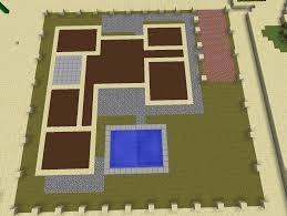 minecraft house floor plan unforgettable modern plans simple small