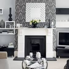 Modern Room Decor Retro Wallpaper Patterns Creating Magic Effects And Enhancing