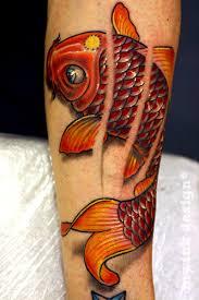 hellohurricanemynameismarym koi fish tattoo sleeve