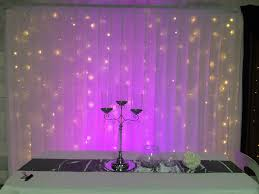 Fairy Light Wall by Lighting And Sound Event Styling Co Auckland