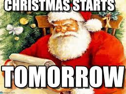 Santa Claus Meme - christmas starts santa claus meme on memegen