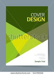 book cover design vector template a4 stock vector 544750312
