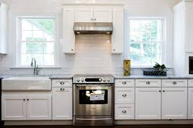 Apron Sink With Backsplash by Sinks Brick Tiles In Dining Room Furniture Sets Tables And Chairs