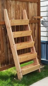 Ana White Build A 5 Board Bench Free And Easy Diy Project And by Ana White Cedar Vertical Tiered Ladder Garden Planter Diy Projects