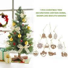aliexpress com buy 11pcs soft pottery cartoon animal snowflake