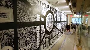 gensler dc street map mural youtube