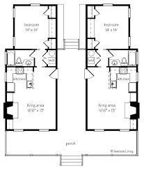 southern living floor plans dogtrot house plans cottage house plans