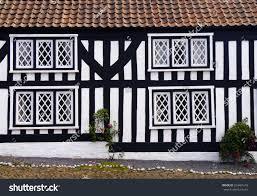 mock tudor house english rural village stock photo 554401618