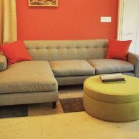 Small Space Sectional Sofa by Living Room L Shaped Grey Fabric Small Sectional Sofa With Short