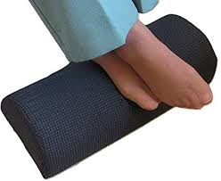 foot elevation under desk amazon com foot rest cushion knee pillow elevating under the