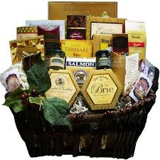 food gift delivery of the season gourmet food gift basket with smoked salmon