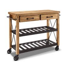 kitchen carts kitchen island cart with drop leaf white metal