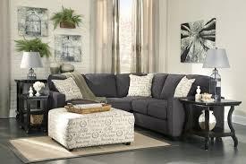 Ashley Furniture Leather Sectional Alenya Charcoal Laf Sectional From Ashley Coleman Furniture
